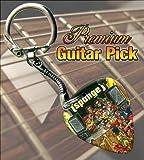 Spunge Premium Guitar Pick Keyring