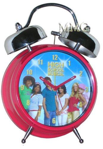 High School Musical Twin Bell Alarm Clock