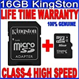 GENUINE NEW HIGH QUALITY 16GB 16 GB MICRO-SD SDHC TF MEMORY CARD FOR SONY XPERIA NEO L ION TABLET P 3G