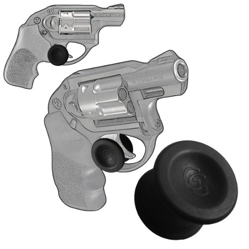1 Pack Ruger Lcr Revolver 22, 38 Special Or 357 Magnum Quick Release Conceal Carry Holster Trigger Stays (Black)