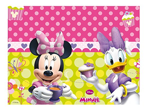 Amscan - Mantel para fiesta Minnie Mouse (Amscan International 81645)
