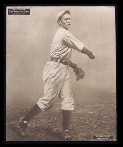 M101-2 Sporting News Supplements October 31 1912 Joe Wood Red Sox (Card) # 85 Dean'S Cards 5 - Ex