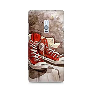 Mobicture Shoes Premium Printed Case For OnePlus Two