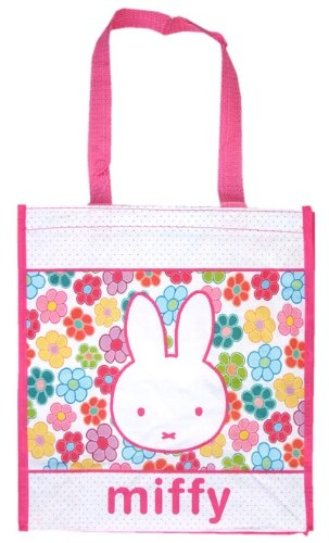Miffy (miffy) Shopper Tote 8060 [ Bruna packaging Netherlands Character Goods rabbit ]