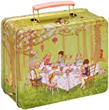 Belle & Boo Metal Tin Tote/Lunch Box