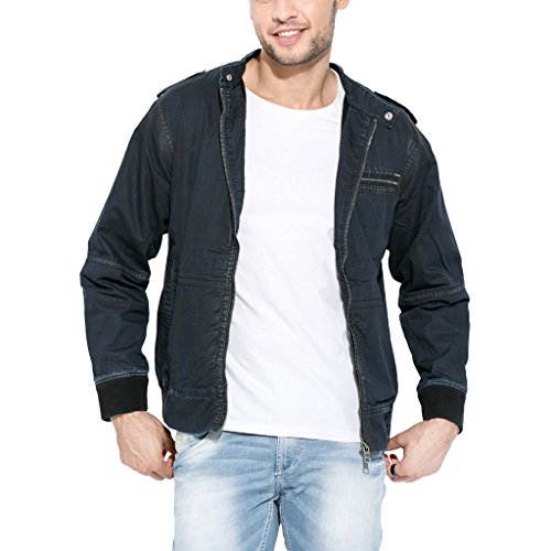 Mufti-Mens-Cotton-Jacket-MFJ-503-A97BlackXX-Large
