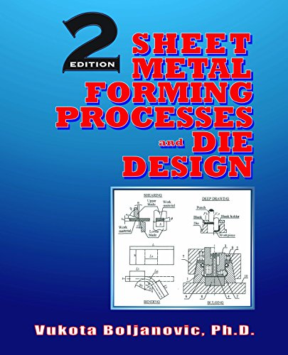 Sheet Metal Forming Processes and Die Design, by Vukota Boljanovic