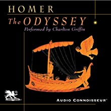 The Odyssey (       UNABRIDGED) by Homer, A. T. Murray (translator) Narrated by Charlton Griffin