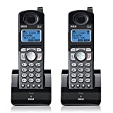 RCA 25055RE1 Dect 6.0 Cordless Expansion Handset 2-Line Landline Telephone - 2 Pack