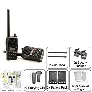 the best range walkie talkie set 2 way radios walky talky two walki talki uhf