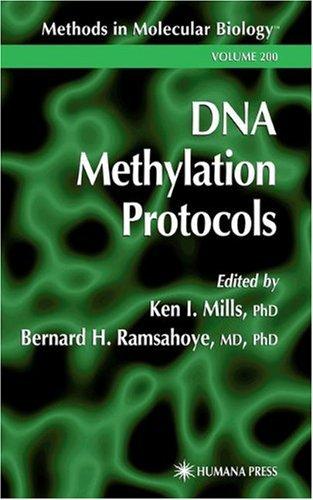 Dna Methylation Protocols (Methods In Molecular Biology)