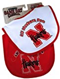 NCAA Nebraska Cornhuskers Infant Bib 2-Piece at Amazon.com