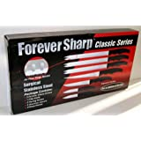 Forever Sharp Classic Series 12 Pc Set Surgical Stainless Steel Knives