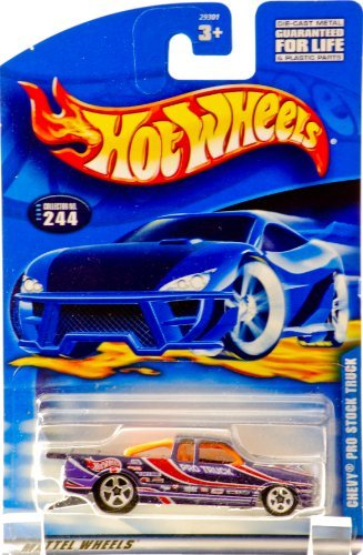 Hot Wheels Chevy Pro Stock Truck #244 Year: 2000