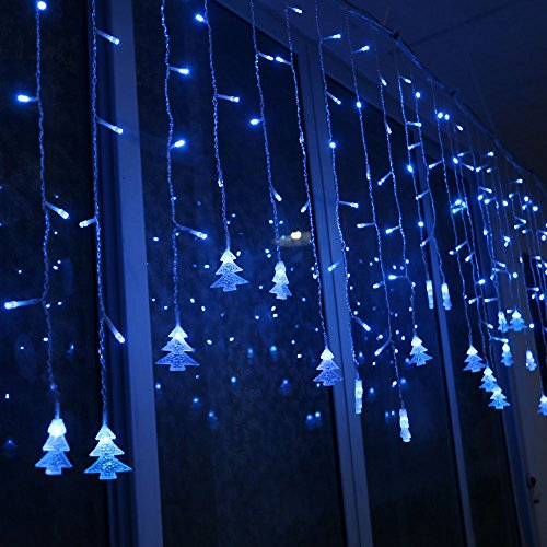 liangsm 3 5m 96 led fairy lights curtain icicle starry