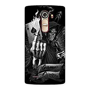 Enticing Game Over Back Case Cover for LG G4