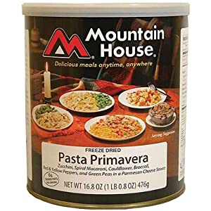 Mountain House Pasta Primavera #10 Can Freeze Dried Food - 6 Cans Per Case NEW! by Mountain House