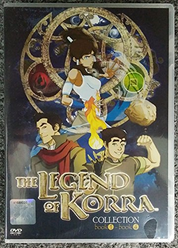 AVATAR - THE LEGEND OF KORRA (COMPLETE BOOK 1-4) ( ENGLISH AUDIO) - COMPLETE SERIES DVD BOX SET (Korra Season 1 compare prices)