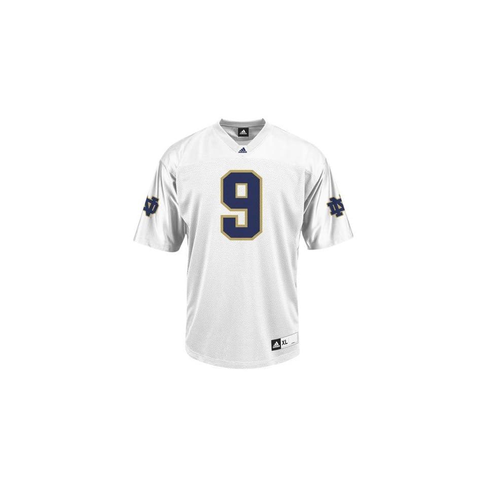 com NCAA adidas Notre Dame Fighting Irish #9 Replica Football Jersey