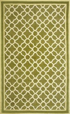 Sawgrass Mills Watermark Green Indoor/Outdoor Rug Size: 8' x 10' Rectangle