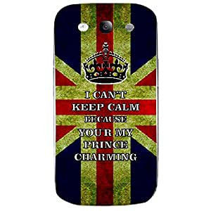 Skin4gadgets I CAN'T KEEP CALM BECAUSE YOU'R MY PRINCE CHARMING - Colour - UK Flag Phone Skin for SAMSUNG GALAXY S3 (I9300)