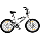 LA Bicycle / 82017 Vélo BMX Blanc Hauteur de cadre 26 cm / Pneus 50,8 cm