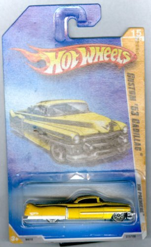 Hot Wheels 2009-015 Custom '53 Cadillac HW Premiere GOLD 1:64 Scale