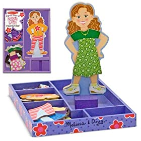 Melissa & Doug Maggie Leigh Magnetic Dress-Up