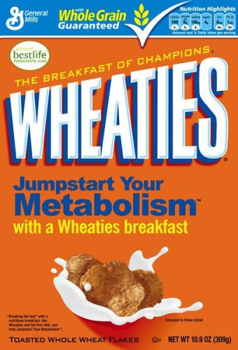 Buy Wheaties Cereal, 10.9-Ounce Box (Pack of 6) (General Mills, Health & Personal Care, Products, Food & Snacks, Breakfast Foods, Cereals)