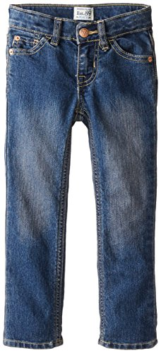 The Children's Place Little Girls' New Skinny Jean, China Blue, 6