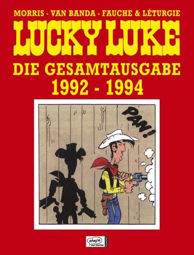 Lucky Luke Gesamtausgabe 21:1992-1994, Buch