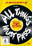 DVD Cover 'All Things Must Pass: The Rise and Fall of Tower Records (OmU)