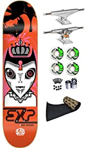 Alien Workshop Dyrdek EXP 7.7 Skateboard Deck Complete Independent Trucks Spitfire Wheels 53mm Abec 7 Bearings Jessup Grip from Alien Workshop