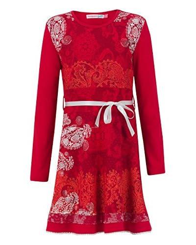Desigual Vestido Rojo