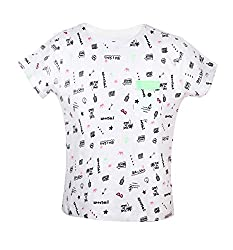Vitamins Boys' T-Shirt (08B-481-6-White_White_6 - 7 Years)