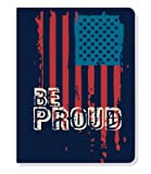 ECOeverywhere Be Proud Journal, 160 Pages, 7.625 x 5.625 Inches, Multicolored (jr11955)