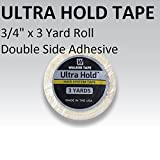 Ultra Hold Adhesive Support Tape 3/4' x 3 Yard Roll by Unknown