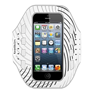 Belkin Pro-Fit Armband for iPhone 5, 5S and 5c (Whiteout)