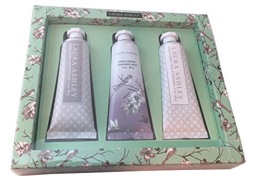 Laura Ashley Hand Cream Gift Set - Lavender Sage, White Gardenia and Country Lily (Tanning Stickers Variety Pack compare prices)