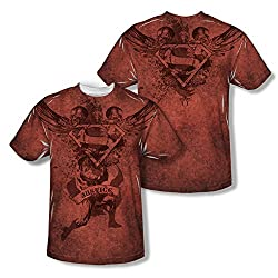 Superman Justice Upheld All Over Print Front / Back T-Shirt