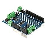 【ノーブランド 品】Arduino V2 キット用 ステッピングモータサーボシールド ステッパ モータ機 サーボ シールド