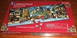 SANTAS HERE. LIMITED EDITION CHRISTMAS 2002 WH SMITH 1000 PIECE PANORAMIC JIGSAW PUZZLE.