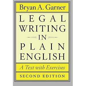 garner legal writing in plain english