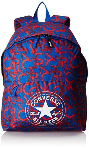 Converse-sa410363 A17-Zaino per la scuola, Blu (viola/arancione), Taglia unica