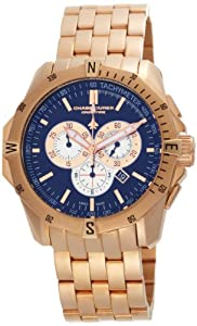 Chase-Durer Men's 850.8BRG Crossfire 18K Rose Gold-Plated Stainless Steel Chronograph Watch by Chase Durer