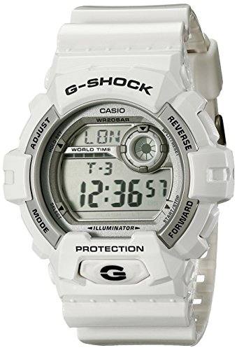 hot sale online 600ae 0608e G-Shock World Time Grey Dial Men's watch #G8900A-7 [Watch] - Import It All