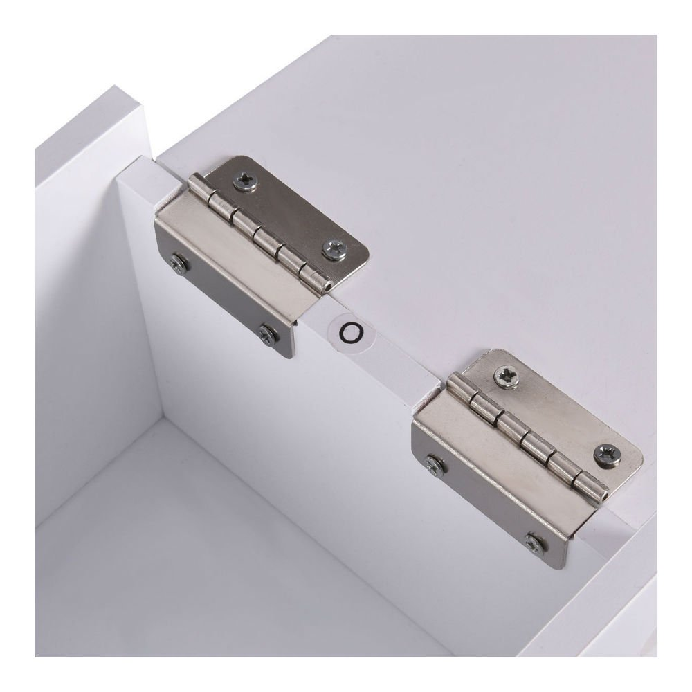Narrow Wood Floor Bathroom Storage Cabinet Holder Organizer Bath Toilet