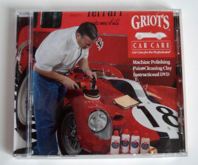 Griot's Car Care Instructional DVD - Machine Polishing - Paint Cleaning Clay