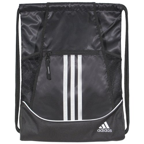 adidas Alliance II Sackpack, 18 x 13 3/4-Inch,