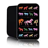 'Fantasy Horse' Fashion Case for BLACKBERRY CURVE 9320 (S) Shock Resistant Neoprene Slip Pouch (Case, Cover)